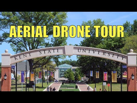 Kent State University Campus Tour by Drone - Kent State (KSU)