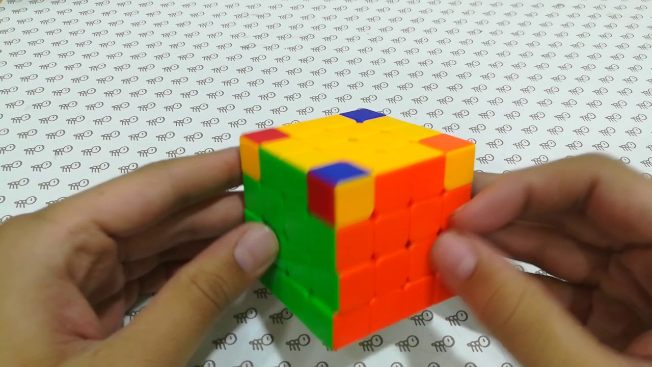Corner parity in 4x4 rubiks cube in hindi