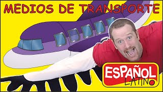 Los Medios de Transporte para Niños | Cuentos Educativos | Steve and Maggie Español Latino