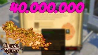 ПРОПАЛИ 40.000.000 ЗОЛОТА :С | Royal Quest