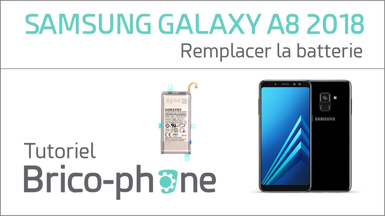 utterly stylish outlet boutique latest fashion Tutoriel Samsung Galaxy A8 2018 : remplacer la batterie