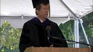 UCLA Department of Ecology and Evolutionary Biology and Institute of the Environment 2008 Commencement Address