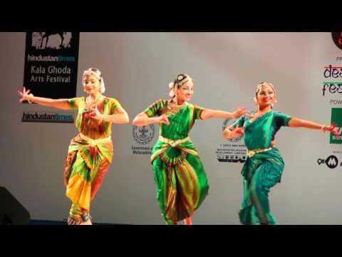 Bharathanatyam At KALA GHODA ARTS FESTIVAL MUMBAI .....