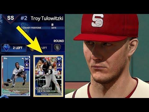 DIAMOND TROY TULOWITZKI IS ON THE SQUAD!! MLB THE SHOW 17 BATTLE ROYALE