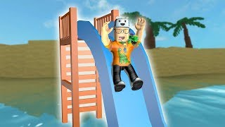 ROBLOX: THE OLD MAN WAS ON THE TRAIL OF THE SLIDES! -Play Old man
