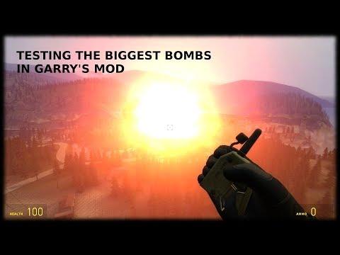 BIGGEST EXPLOSIONS | Garry's Mod