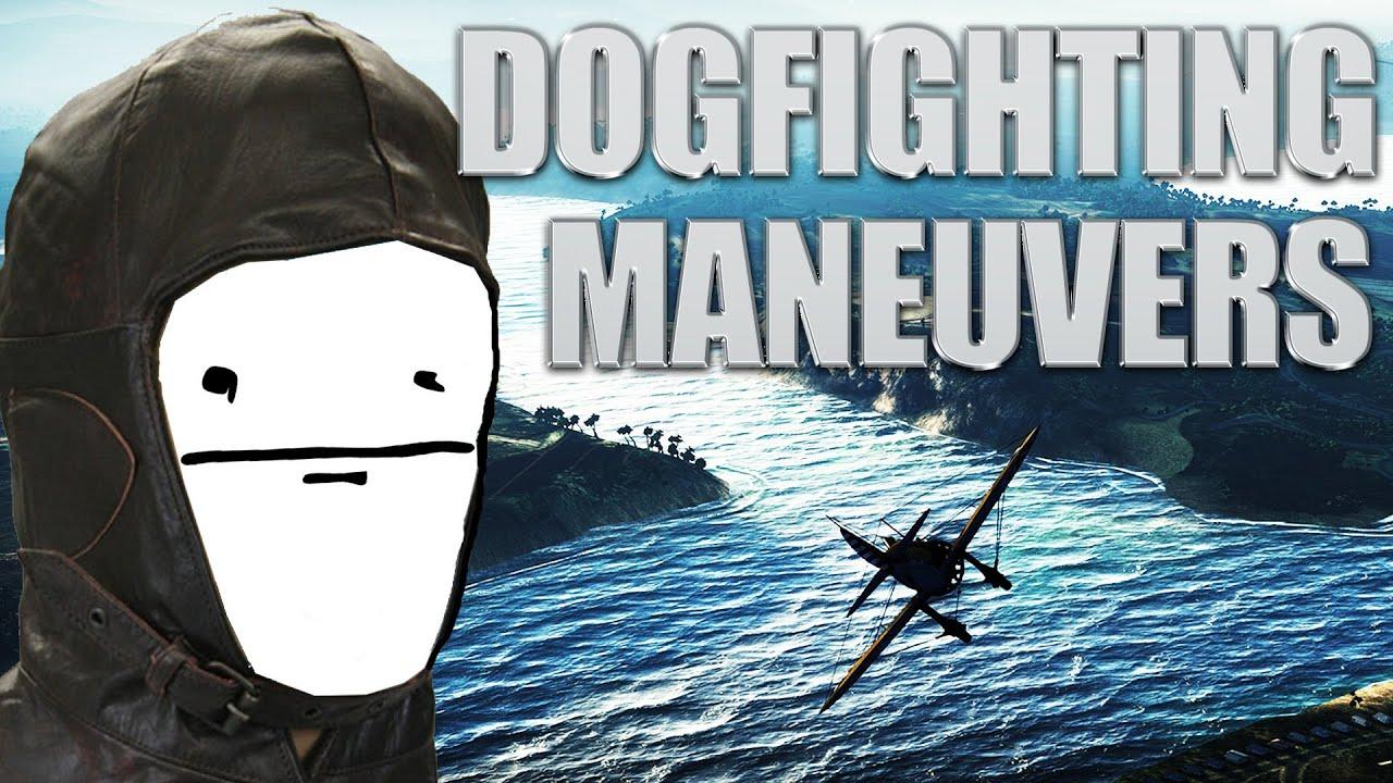 War Thunder - Dogfighting Maneuvers #1: The Lagging Maneuver