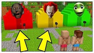 NON SCEGLIERE LA CASA SBAGLIATA! - Minecraft ITA
