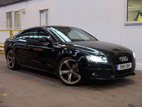 2011 audi a5 coupe black edition 2l for sale in hampshire youtube - Audi a5 coupe s line black edition for sale ...