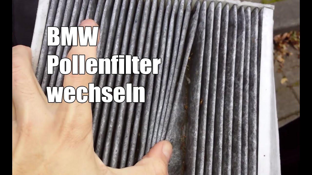 Bmw Z4 Pollenfilter Aktivkohlefilter Wechseln Youtube