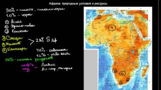 видео Природные условия и ресурсы