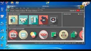 #ساخن #تفعيل برنامج المونتاج الشهير VSDC Video Editor Pro 5 8 9 #سريال 100%