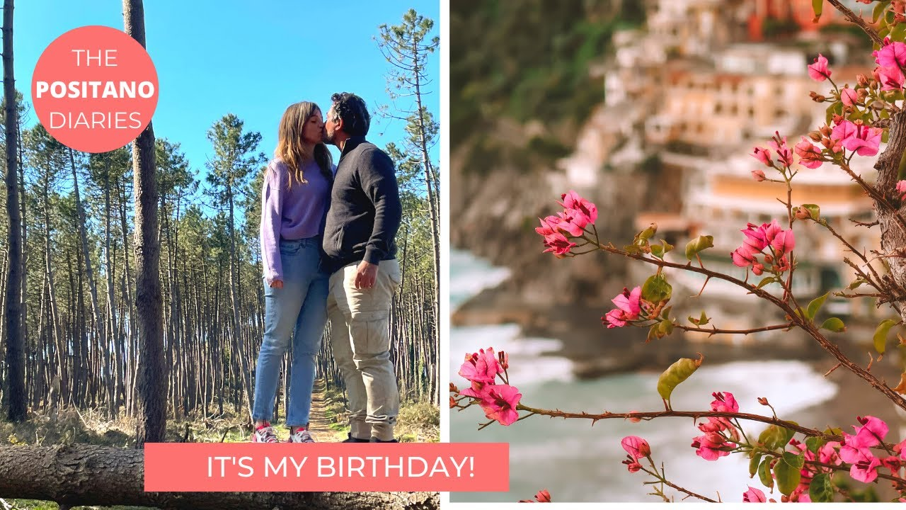 A SIMPLE SUNNY WINTER BIRTHDAY | The Positano Diaries EP 91