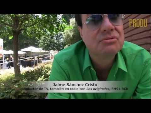 Jaime Sánchez Cristo, productor de TV con Vista y conductor radial con Los originales FM RCN