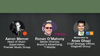 Music, Audio & Podcasts: Premier Music Group, T-Mobile, & Stagwell Group Panel