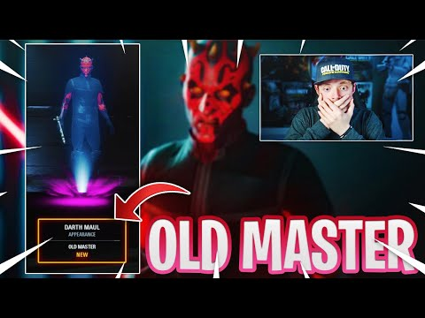 """HOW TO UNLOCK MAUL """"OLD MASTER"""" SKIN 👀 (BATTLEFRONT 2)"""