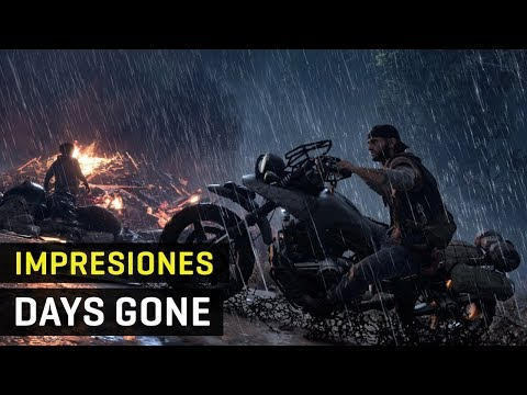 Gameplay e impresiones DAYS GONE en PS4 - 3 horas de juego