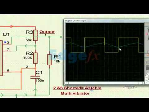 Circuito Astable 555 : 555 timers 556 timers 7555 timers basics features and application