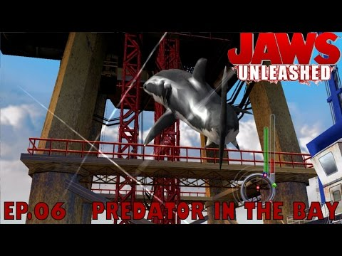 Let's Play Jaws Unleashed Ep.06 PREDATOR IN THE BAY