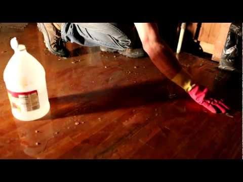 Vinegar Treatment on Wood Floors