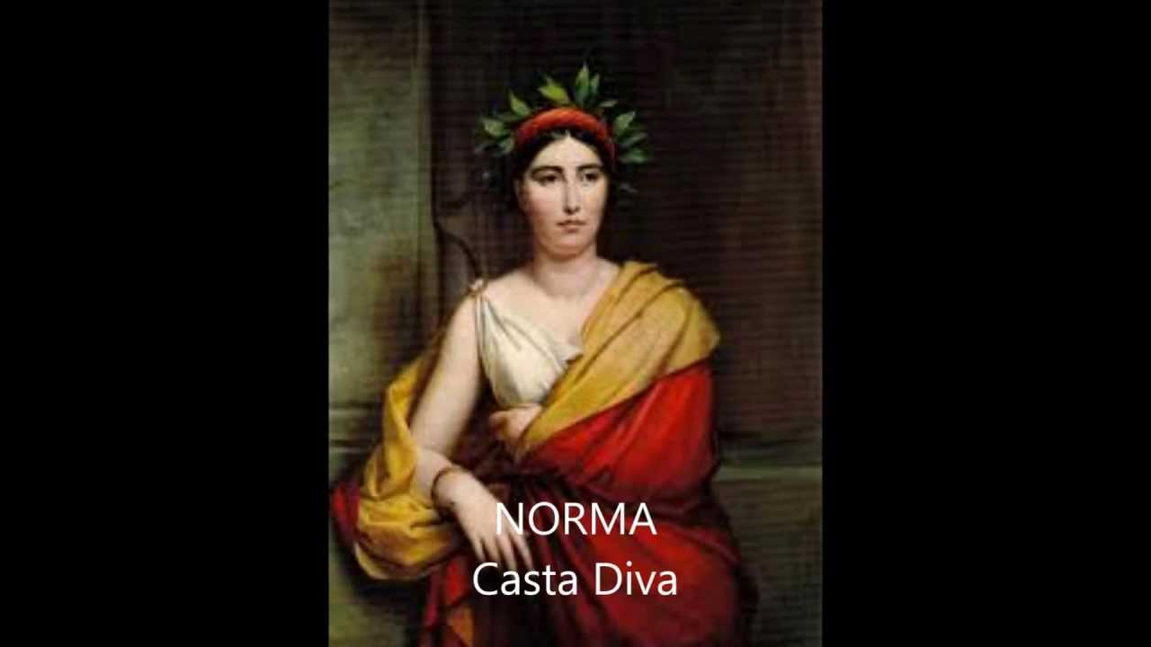 Norma casta diva youtube for Casta diva pictures