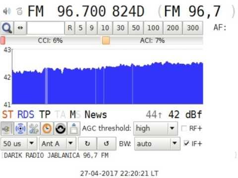 Test Radio Darik Jablanica Bulgaria