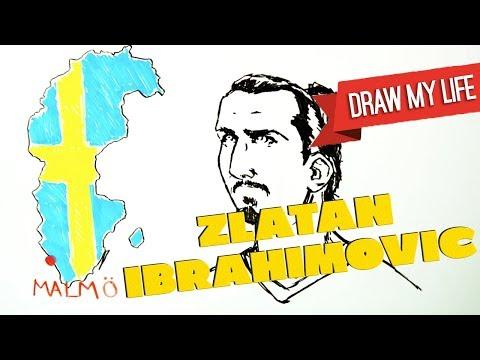 ZLATAN IBRAHIMOVIC - Draw My Life     /    HELLOSPORT