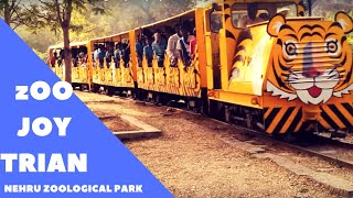 Toy train in Hyderbad's Zoological park  (HD)!!