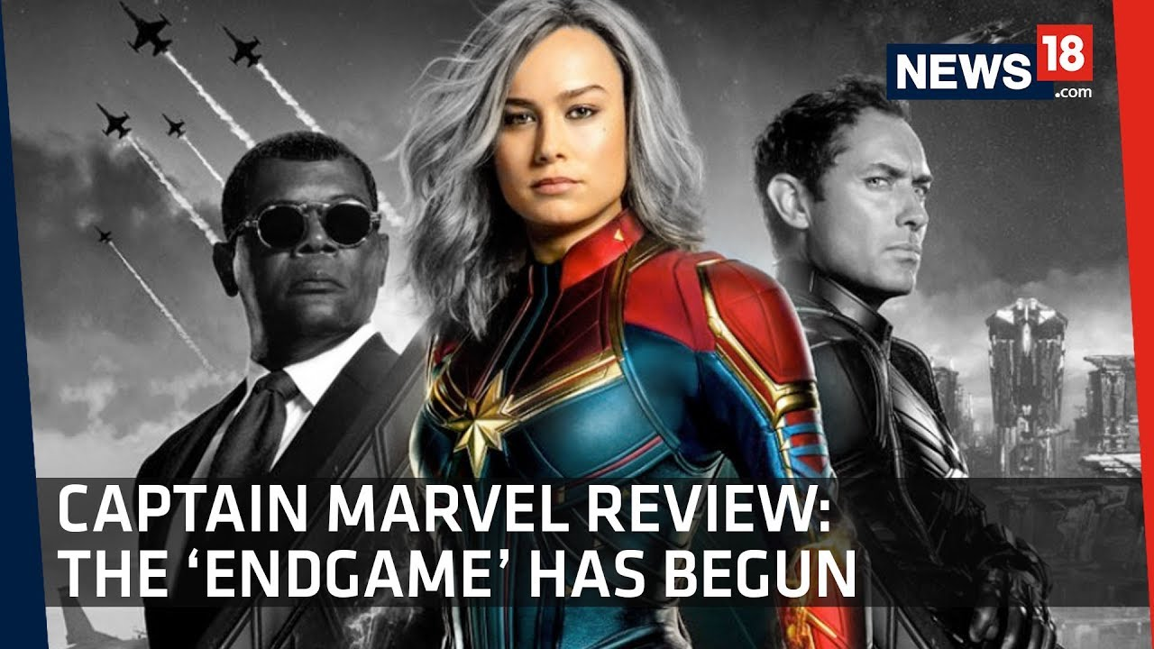 Captain Marvel Review | Brie Larson Marvel's First Female Superhero | Cut To Cut Movie Review