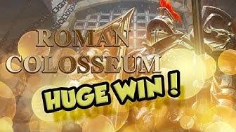 BIG WIN!!!! Roman Colosseum - Casino - Bonus Round (Casino Slots)
