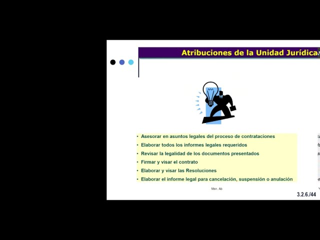 CURSO RESOLUCIÓN DE CASOS PRÁCTICOS EN PROCESOS DE CONTRATACIÓN ESTATAL - Clase  6