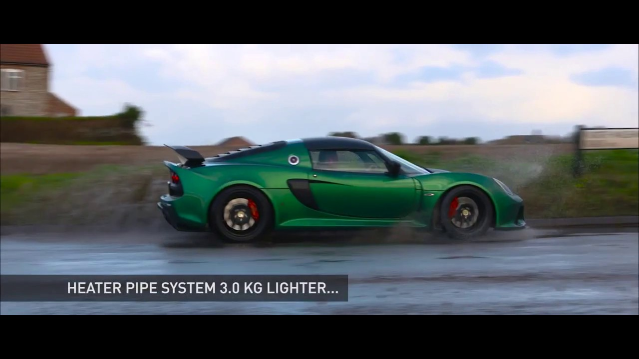 New Lotus Exige Sport 350 Light Is Right Automototv Youtube