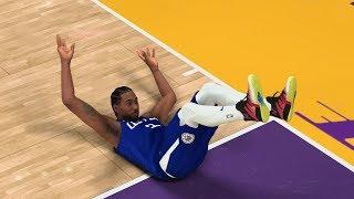 NBA 2K20 My Career EP 67 - LeBron Dunks on Kawhi! CFG3