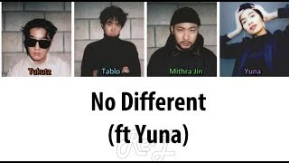 Epik high 에픽하이 - 'no different (ft yuna)' color coded lyrics including english subs and translation. twitter: https://twitter.com/myeternalmp3 2nd channel: h...