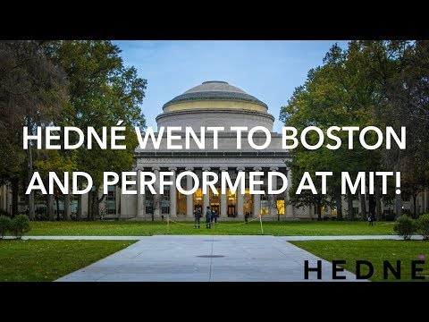 Hedné performing at MIT 2017 - highlights