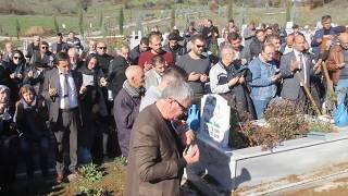 Çan Halkı Cahit Özer'i Son Yolculuğu Dualarla Oldu.