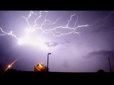 🎧 Incredible Lightning Storm In Lakewood CO - July 12, 2011