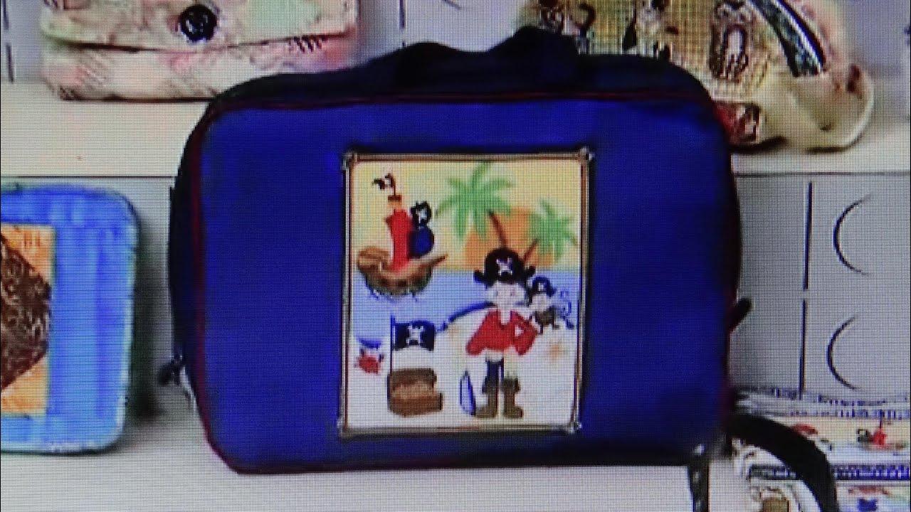 Bolsa De Viagem Em Tecido Passo A Passo : Mala ou bolsa infantil de tecido do pirata maria adna