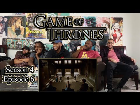 """Game Of Thrones Season 4 Episode 6 """"The Laws of Gods and Men"""" Reaction/Review"""