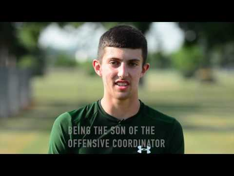 Mendon Football  Interview with quarterback Braxton Samson HD