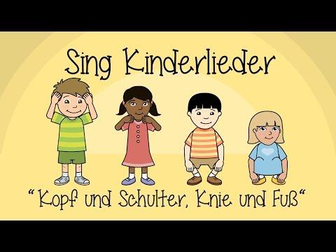 Kopf Und Schultern, Knie Und Fuß - Kinderlieder Zum Mitsingen | Sing Kinderlieder