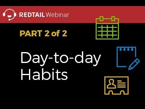 Best Practice - Day to Day Habits