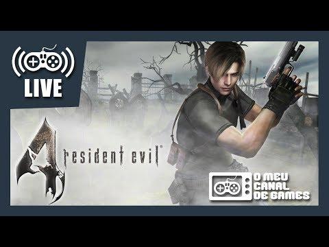 A VOLTA!!! [Live] Resident Evil 4 (PS4) - PROFISSIONAL Até Zerar AO VIVO #1