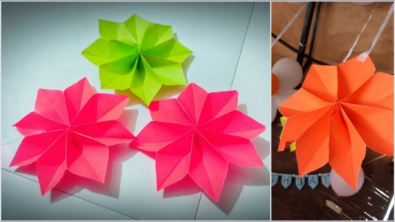 Paper made flowers diy decoration ideas easy ways of home paper made flowers diy decoration ideas easy ways of home decoration mightylinksfo Images