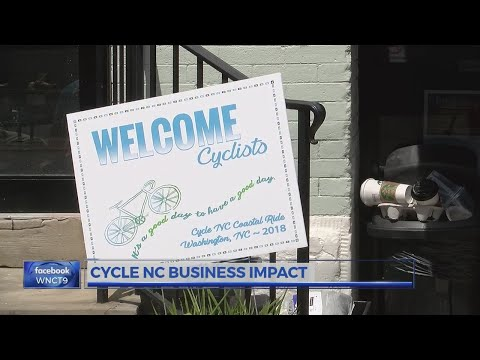 Washington businesses benefiting from Cycle NC crowds