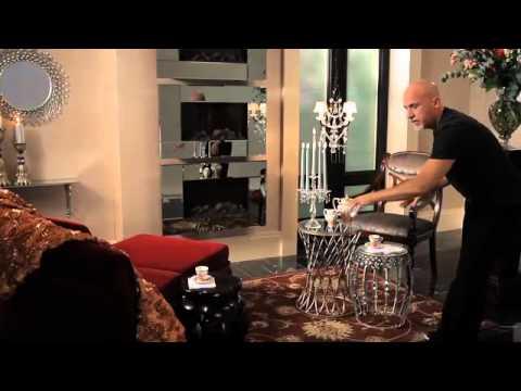 Mix Modern And Antique Furniture: Benjamin Noriega Ortiz., Midnight Velvet  Spring 2011