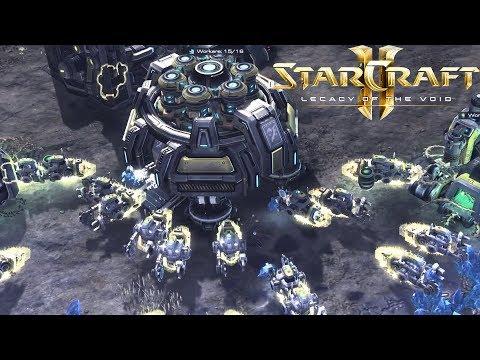 NEW FACTION Genetron Xeyed/Scion Custom Races Starcraft 2 Mod SC2