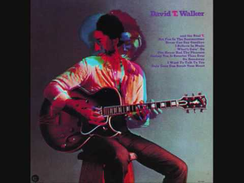David T. Walker - Never Can Say Goodbye