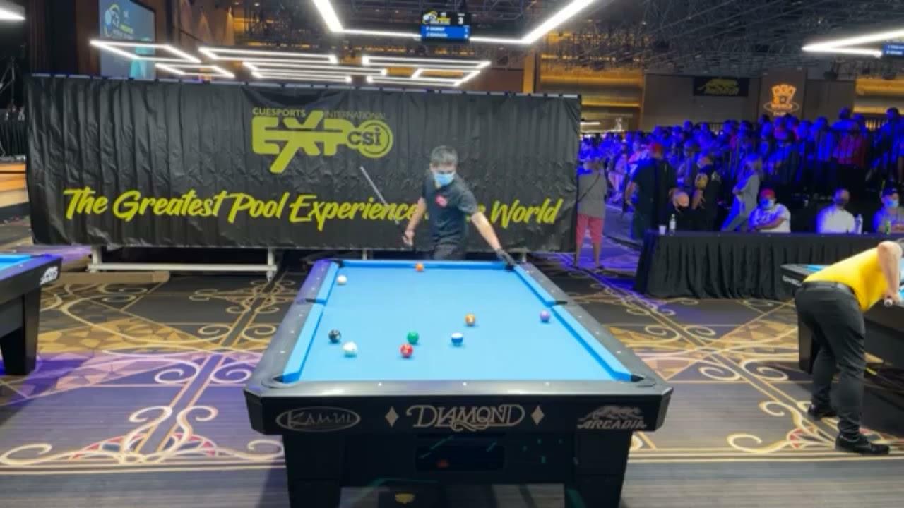 Fedor Gorst (RUS) vs Jeffrey Ignacio (PHI) World 10-Ball Championship 2021, Las Vegas