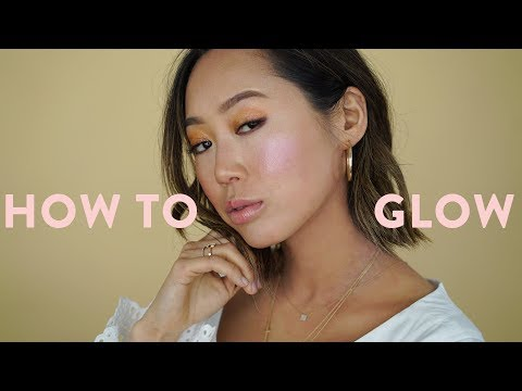 How to GLOW  Highlight & Contour Makeup Tutorial ft Nam Vo  Aimee Song